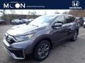 2020 Modern Steel Metallic Honda CR-V EX AWD #137455304