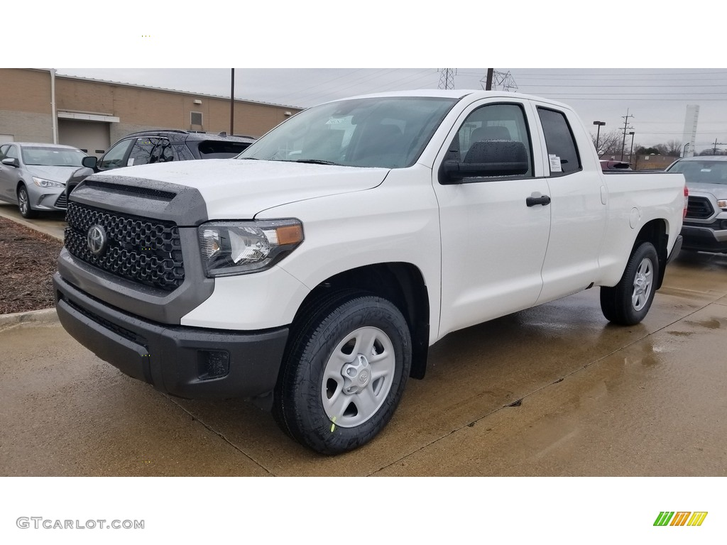 2020 Tundra SR Double Cab 4x4 - Super White / Graphite photo #1