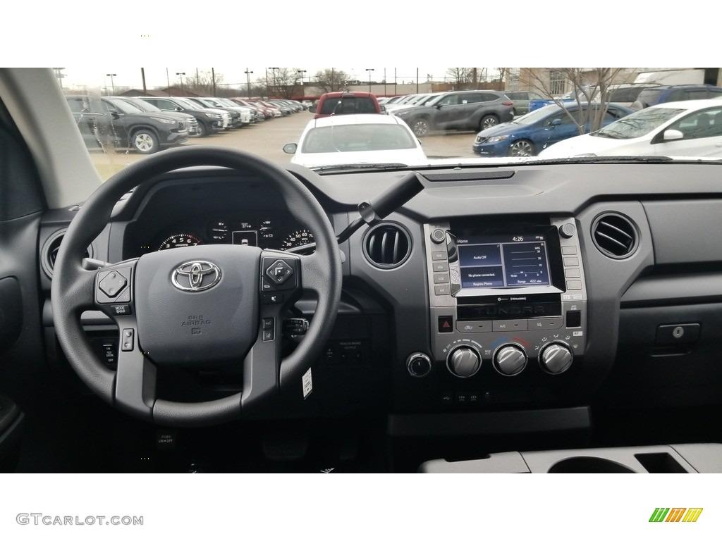 2020 Tundra SR Double Cab 4x4 - Super White / Graphite photo #3