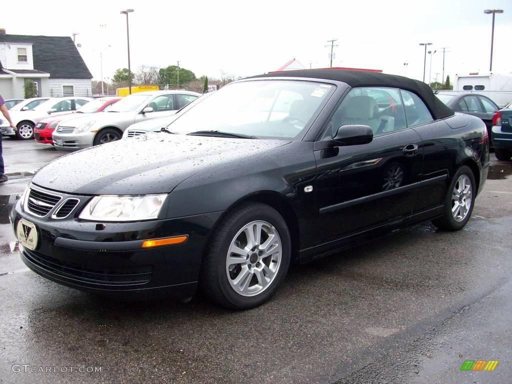 Black Saab 9 3