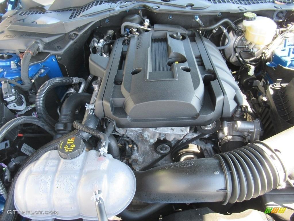 2019 Mustang EcoBoost Premium Fastback - Kona Blue / Ceramic photo #6