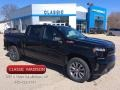 2020 Black Chevrolet Silverado 1500 RST Crew Cab 4x4  photo #1