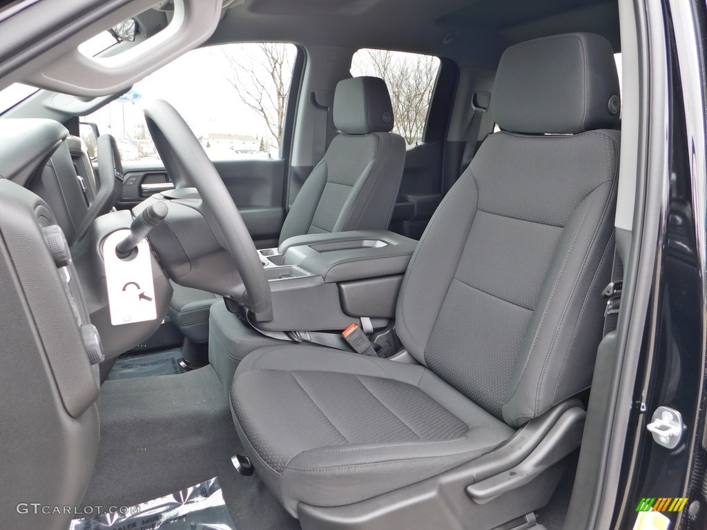 2020 Silverado 1500 Custom Double Cab 4x4 - Black / Jet Black photo #2