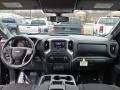 2020 Black Chevrolet Silverado 1500 Custom Double Cab 4x4  photo #13