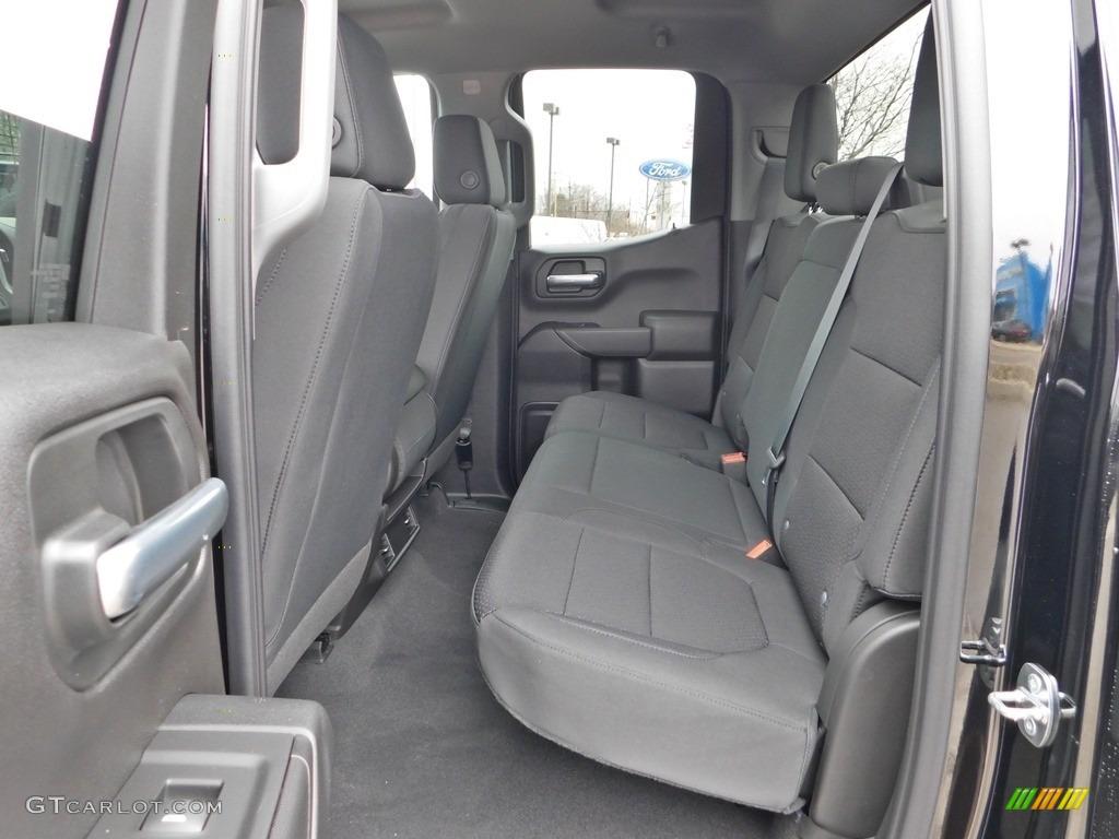 2020 Silverado 1500 Custom Double Cab 4x4 - Black / Jet Black photo #22