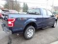 2020 Blue Jeans Ford F150 XLT SuperCab 4x4  photo #5