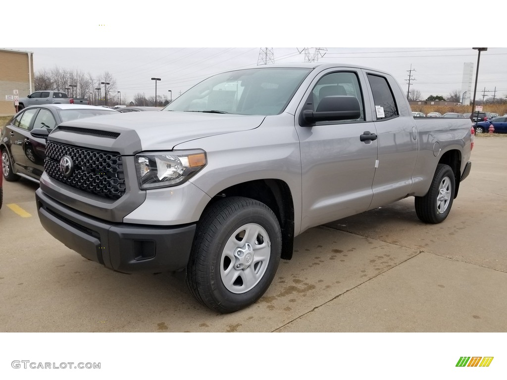 2020 Tundra SR Double Cab 4x4 - Silver Sky Metallic / Graphite photo #1