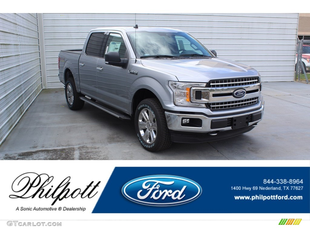 2020 F150 XLT SuperCrew 4x4 - Iconic Silver / Medium Earth Gray photo #1