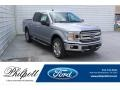 2020 Iconic Silver Ford F150 XLT SuperCrew 4x4  photo #1
