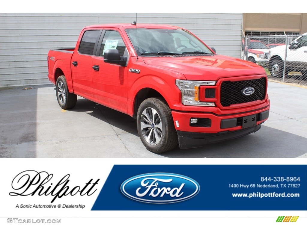 2020 F150 STX SuperCrew 4x4 - Race Red / Black photo #1