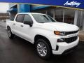Summit White 2020 Chevrolet Silverado 1500 Custom Crew Cab 4x4