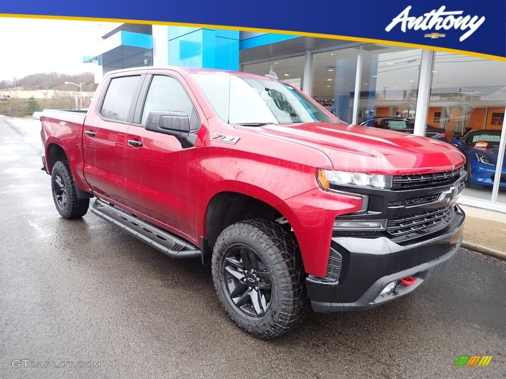 2020 Silverado 1500 LT Trail Boss Crew Cab 4x4 - Cajun Red Tintcoat / Jet Black photo #1