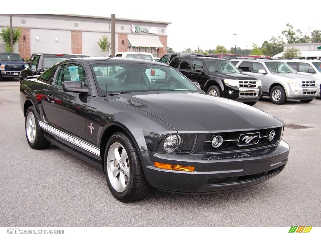 2008 alloy metallic ford mustang v6 premium coupe 13752288