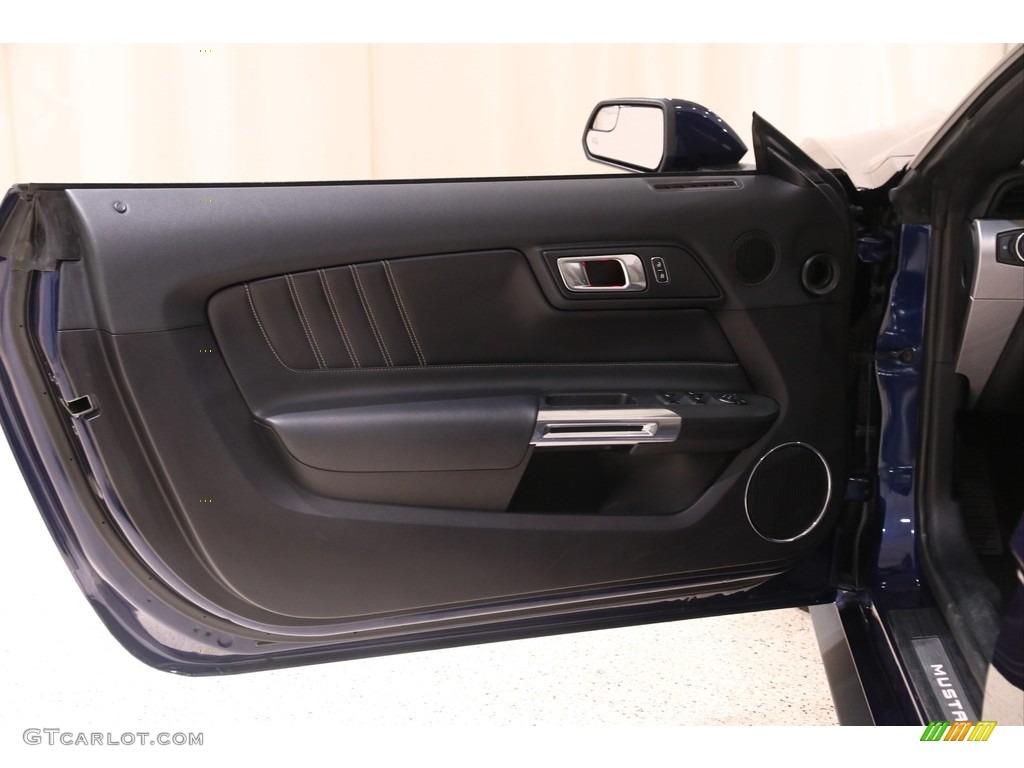 2019 Mustang EcoBoost Premium Convertible - Kona Blue / Ceramic photo #5