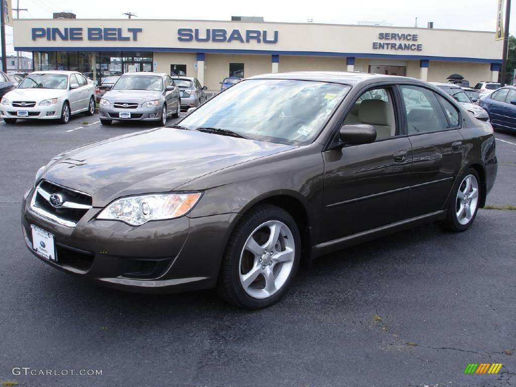 2009 deep bronze metallic subaru legacy 2.5i sedan #13737343