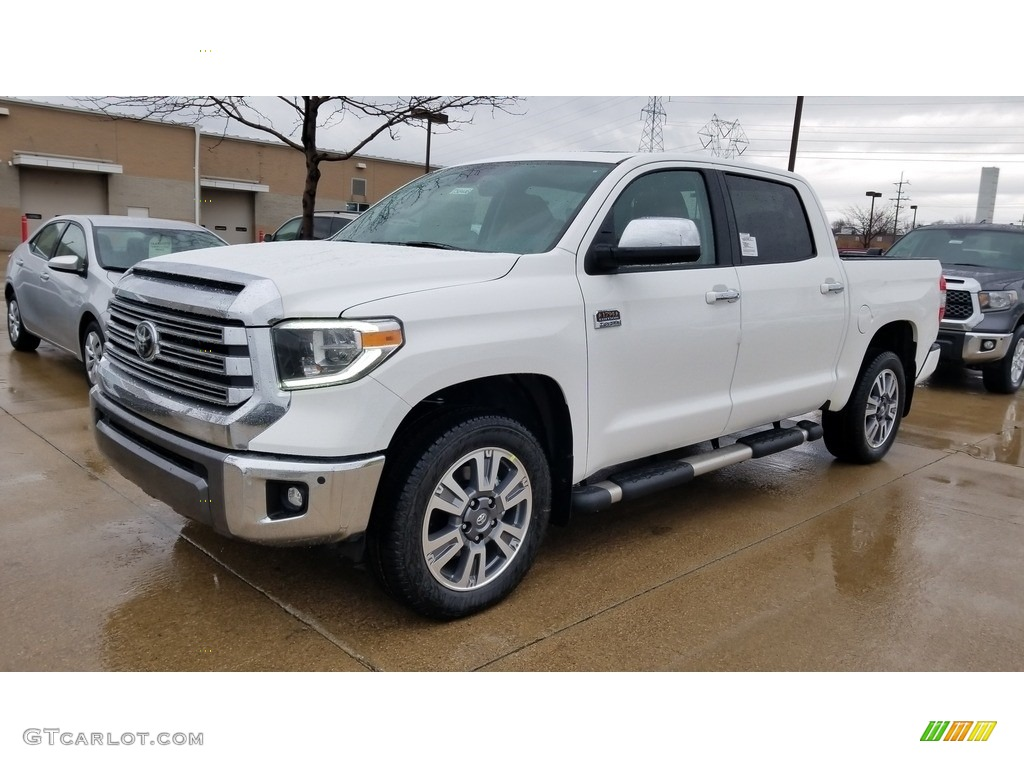 2020 Tundra 1794 Edition CrewMax 4x4 - Super White / 1794 Edition Brown/Black photo #1
