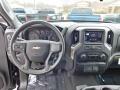 2020 Black Chevrolet Silverado 1500 Custom Crew Cab 4x4  photo #3