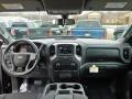 2020 Black Chevrolet Silverado 1500 Custom Crew Cab 4x4  photo #13