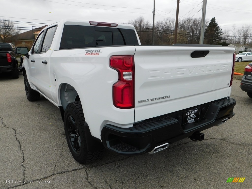 2020 Silverado 1500 LT Z71 Crew Cab 4x4 - Summit White / Jet Black photo #7