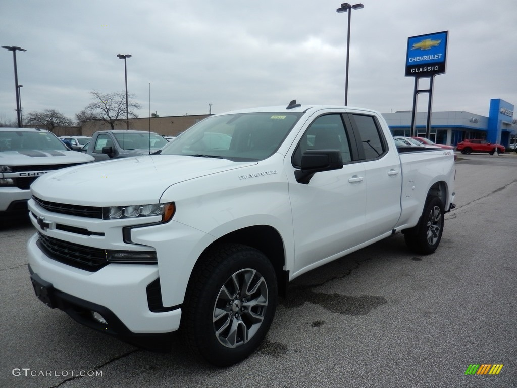 2020 Silverado 1500 RST Double Cab 4x4 - Summit White / Jet Black photo #1