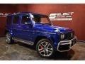 2020 G 63 AMG Brilliant Blue Metallic