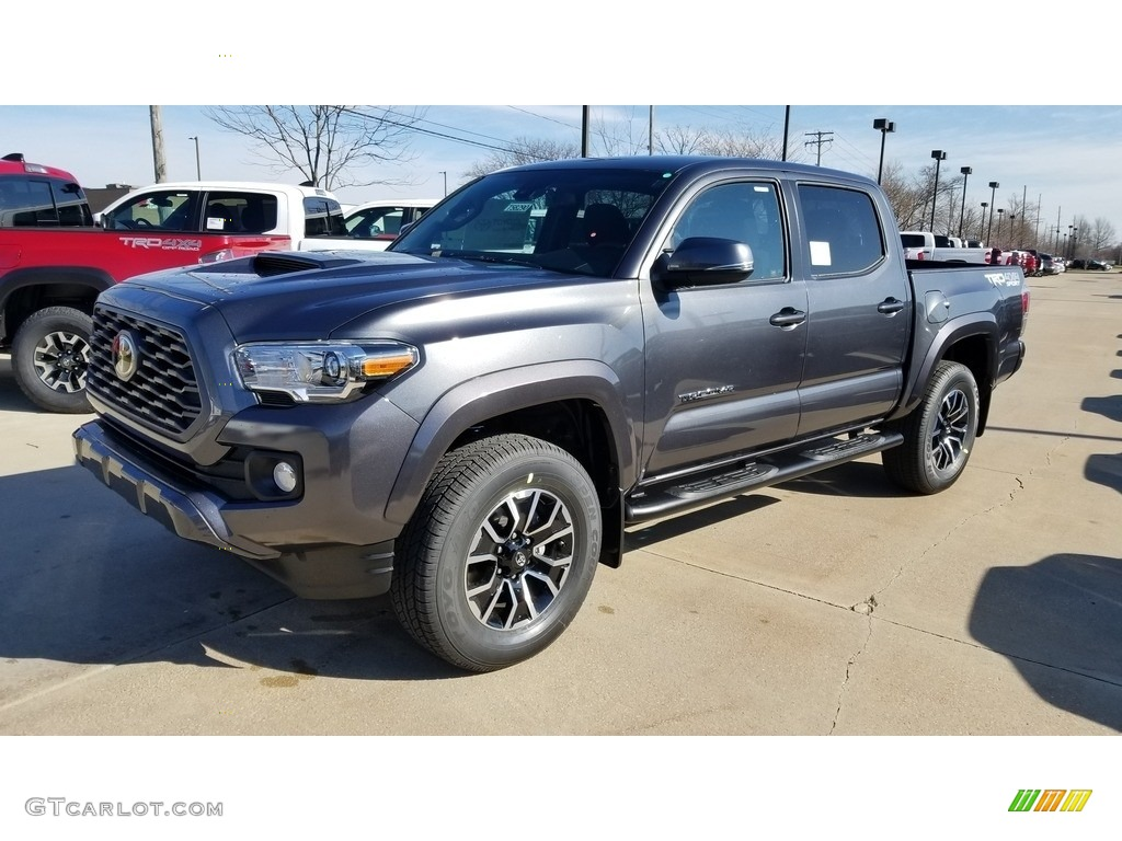 2020 Magnetic Gray Metallic Toyota Tacoma Trd Sport Double Cab 4x4 137734234 Gtcarlot Com Car Color Galleries