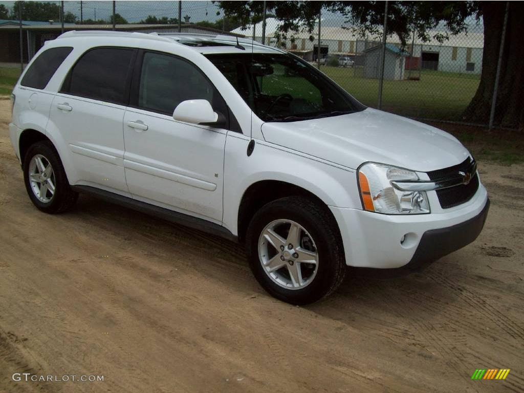 2006 Summit White Chevrolet Equinox LT 13753161  GTCarLotcom