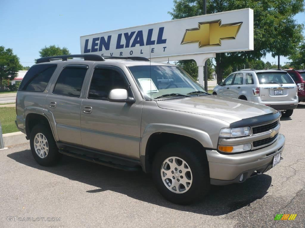 2002 Light Pewter Metallic Chevrolet Tahoe Z71 4x4 13744725