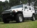 2003 White Hummer H2 SUV  photo #2