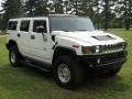 2003 White Hummer H2 SUV  photo #5