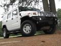 2003 White Hummer H2 SUV  photo #10