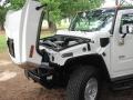 2003 White Hummer H2 SUV  photo #11