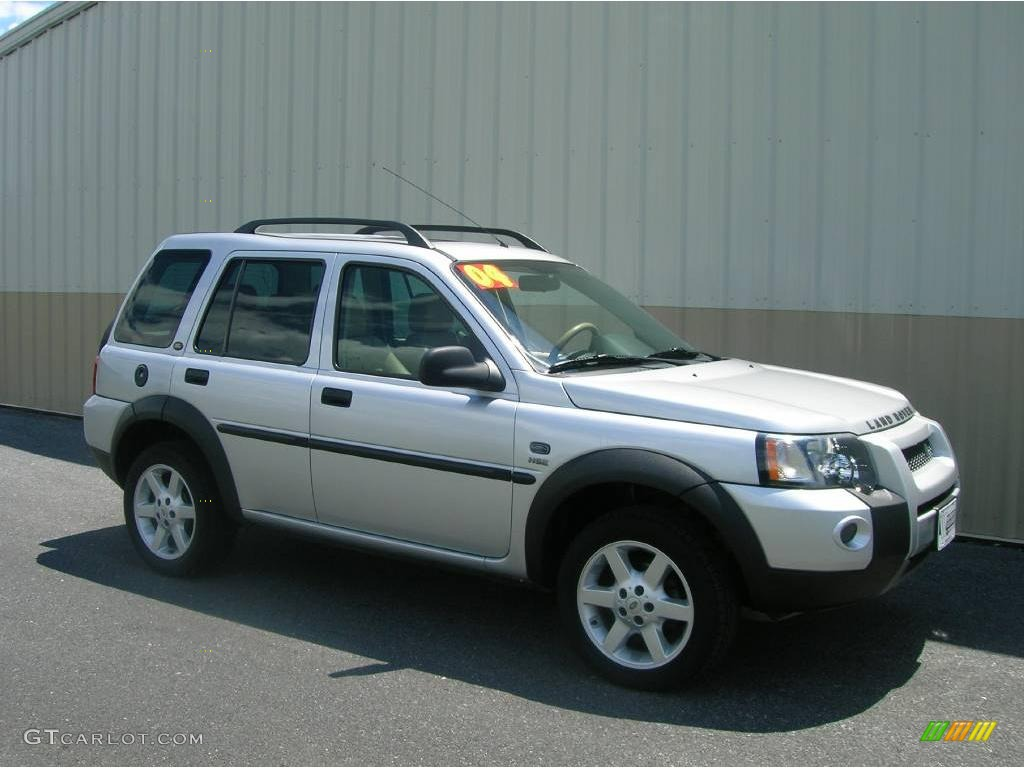 2004 zambezi silver metallic land rover freelander hse. Black Bedroom Furniture Sets. Home Design Ideas