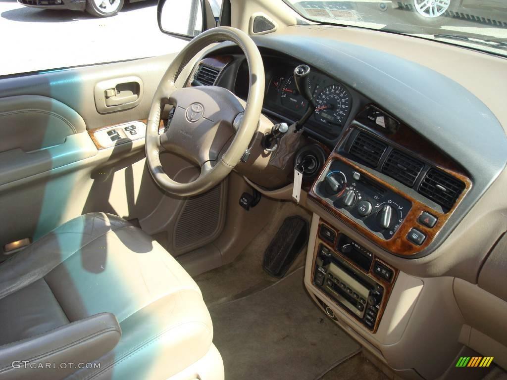 2000 Woodland Pearl Green Metallic Toyota Sienna Xle 13750397 Photo 18 Car