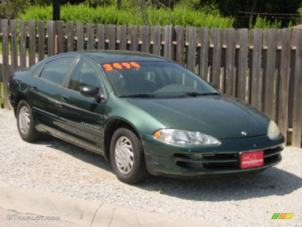 Forest green pearl dodge intrepid