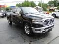 Diamond Black Crystal Pearl - 1500 Long Horn Crew Cab 4x4 Photo No. 5