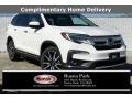 Platinum White Pearl 2020 Honda Pilot Touring
