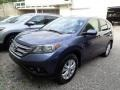 2012 Twilight Blue Metallic Honda CR-V EX 4WD #138217167