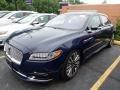 Rhapsody Blue 2018 Lincoln Continental Black Label AWD