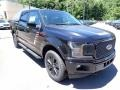 2020 Agate Black Ford F150 Lariat SuperCrew 4x4  photo #3