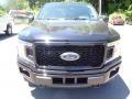 2020 Agate Black Ford F150 XL SuperCrew 4x4  photo #4
