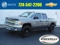 2013 Graystone Metallic Chevrolet Silverado 1500 LT Crew Cab 4x4 #138283855