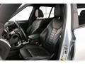 2018 BMW X3 Black Interior Front Seat Photo