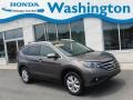 2014 Polished Metal Metallic Honda CR-V EX-L AWD  photo #1