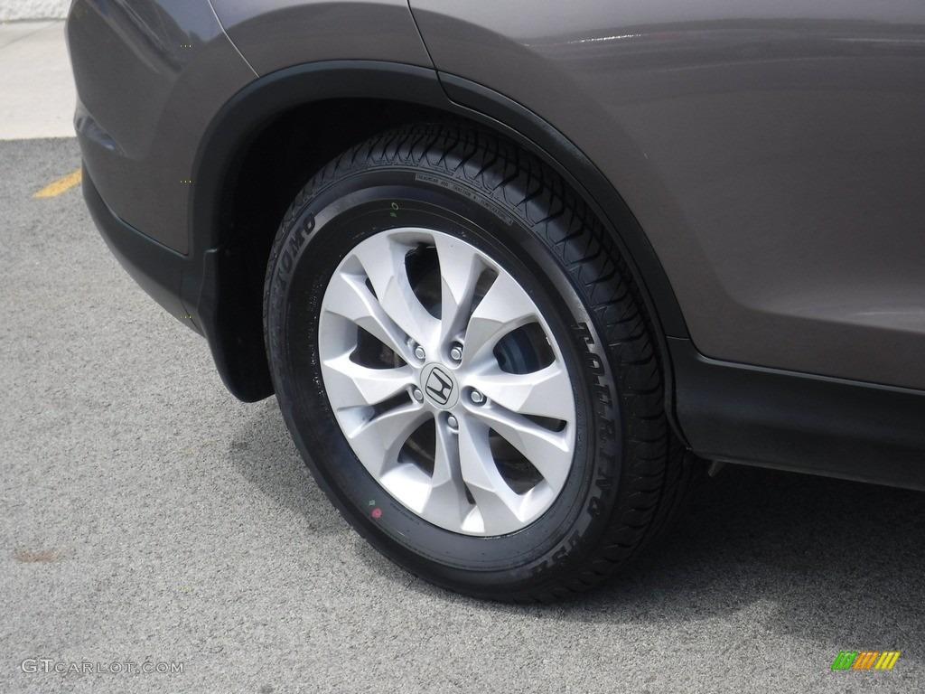 2014 CR-V EX-L AWD - Polished Metal Metallic / Black photo #3