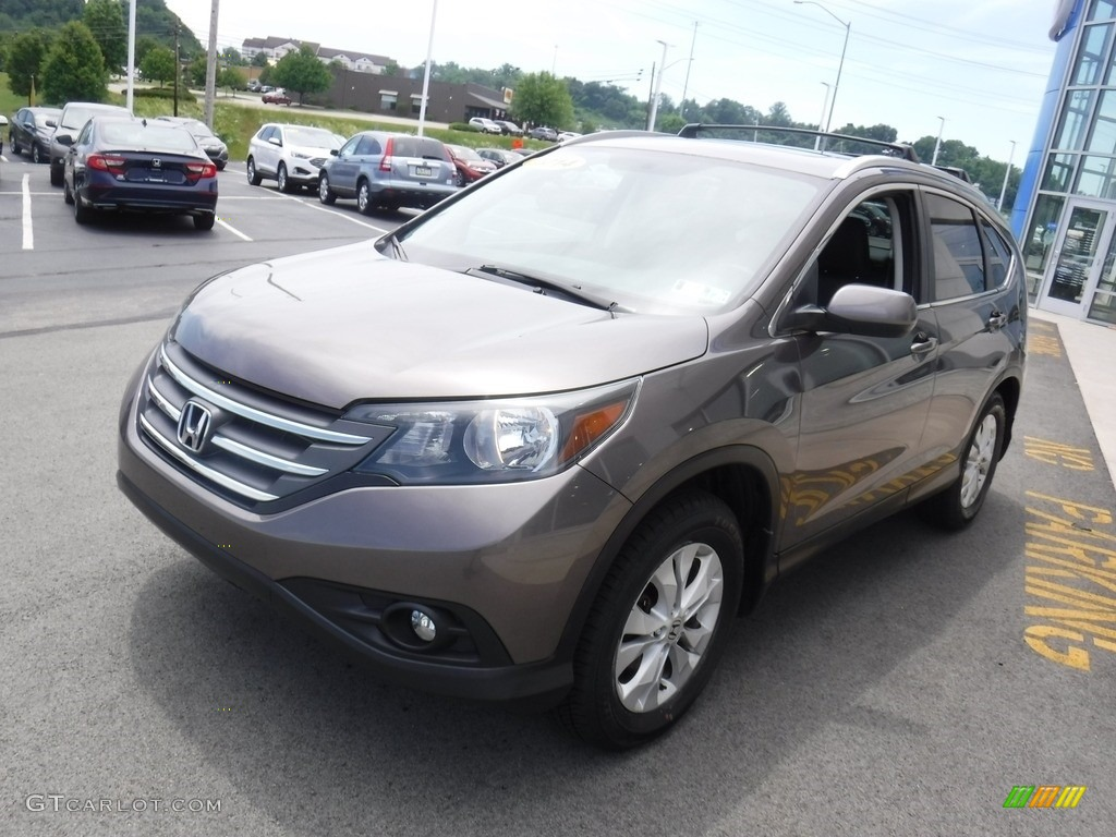 2014 CR-V EX-L AWD - Polished Metal Metallic / Black photo #6