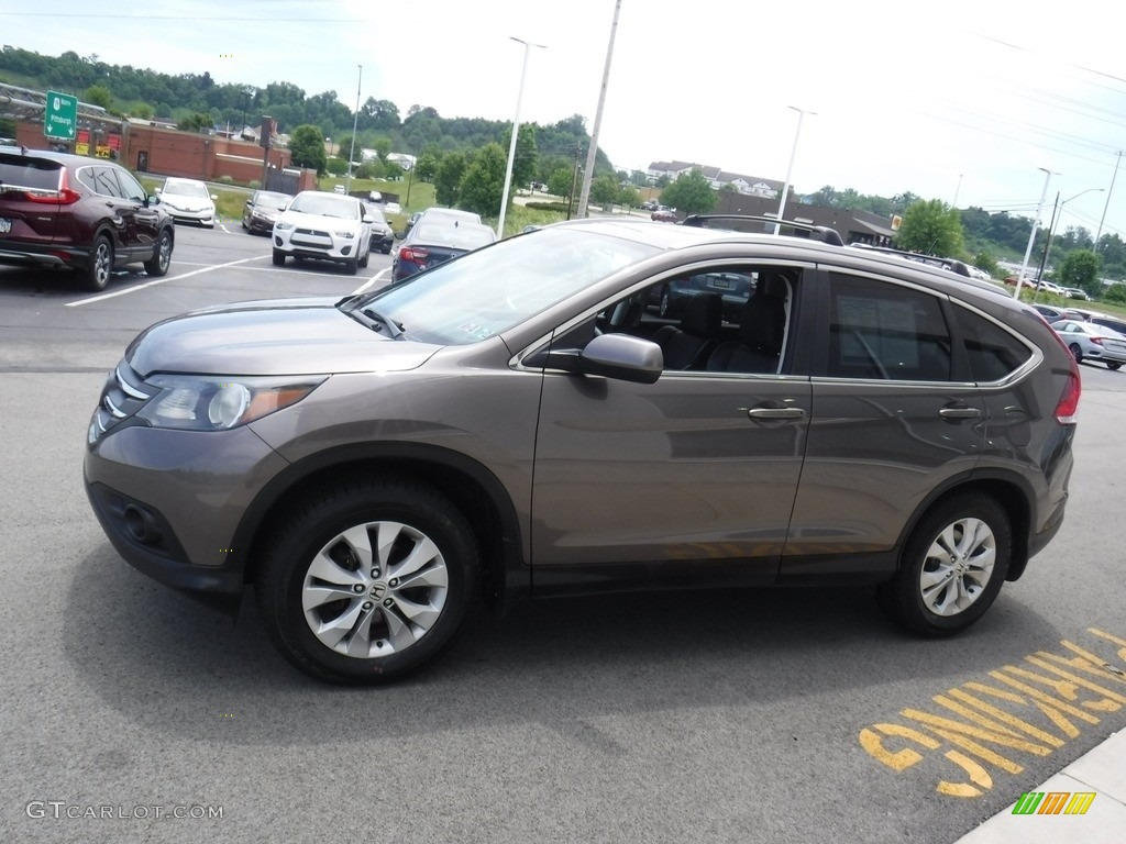 2014 CR-V EX-L AWD - Polished Metal Metallic / Black photo #7