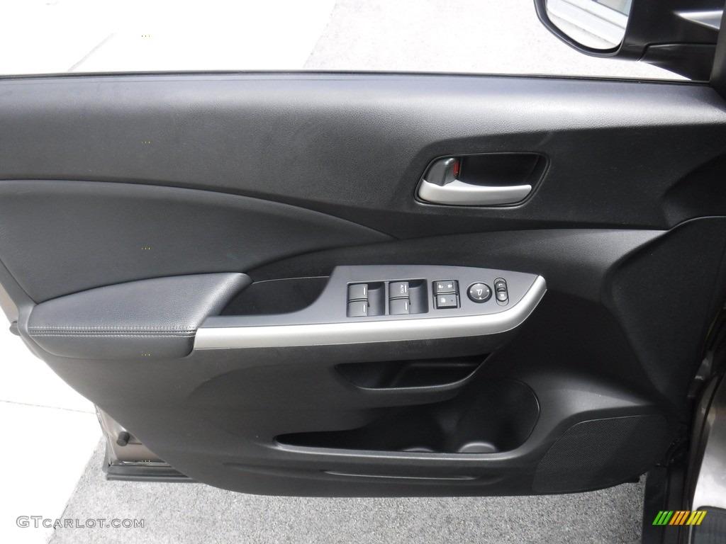 2014 CR-V EX-L AWD - Polished Metal Metallic / Black photo #17