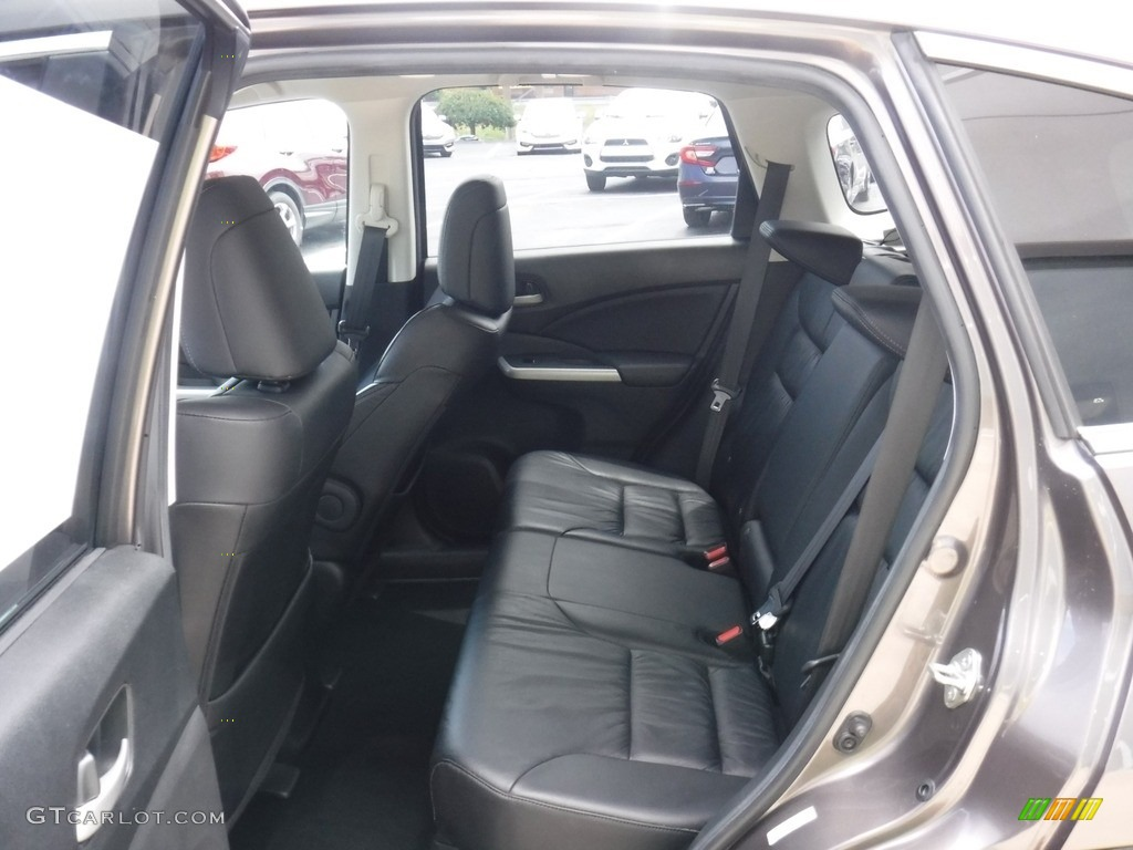 2014 CR-V EX-L AWD - Polished Metal Metallic / Black photo #25