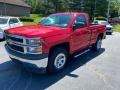 2014 Victory Red Chevrolet Silverado 1500 WT Regular Cab  photo #2